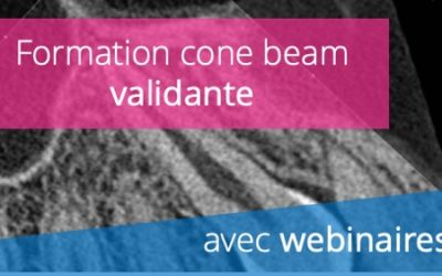 Formation cone beam CT (CBCT) validante avec webinaires